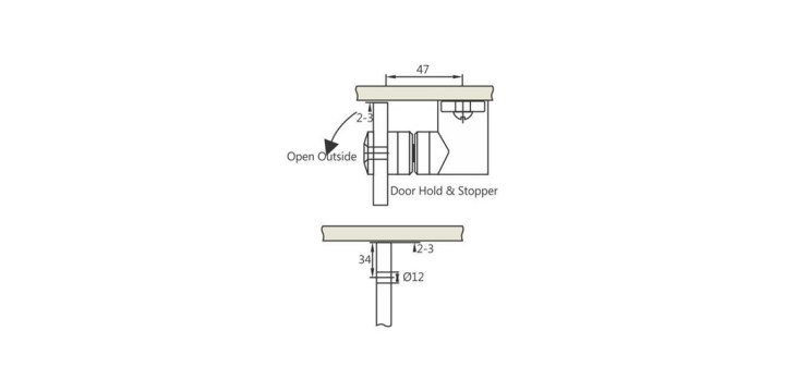 enox-rod-type-shower-hinges-cutout-esh-1109